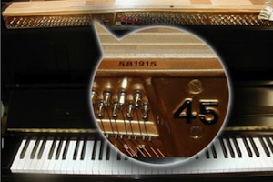 Steinway Upright Serial Number